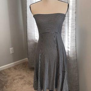 ☀️👗AEO strapless summer dress